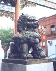 Portland's Chinatown lions